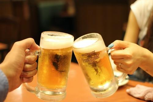 Tag en øl med dine venner